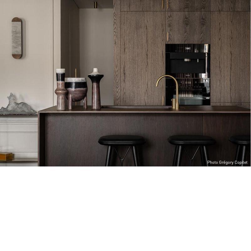 Applique Ghost by Entrelacs photographié dans un apartement