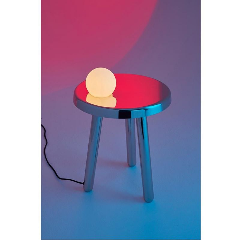 table d'appoint alby fond violet bleu by mason editions