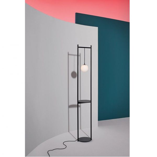 heis lamp grey and black background by mason editions