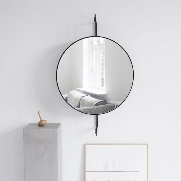 miroir rotatif noir