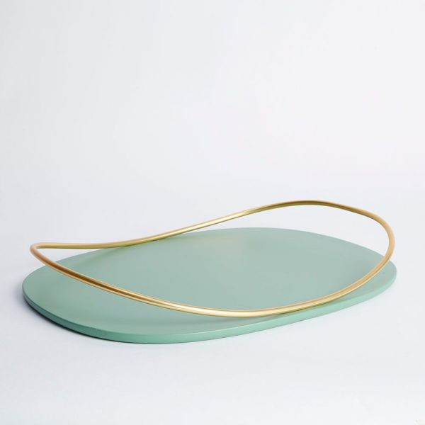 TOUCHE TRAY OVAL by Mason Editions