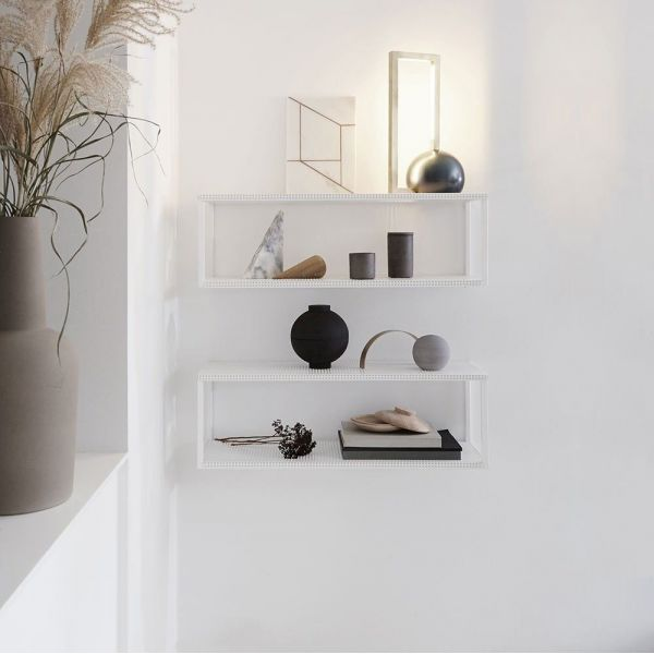 GRID WALL SHELF by Kristina Dam