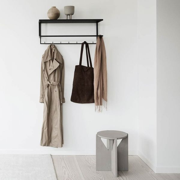 GRID COAT HANGER by Kristina Dam