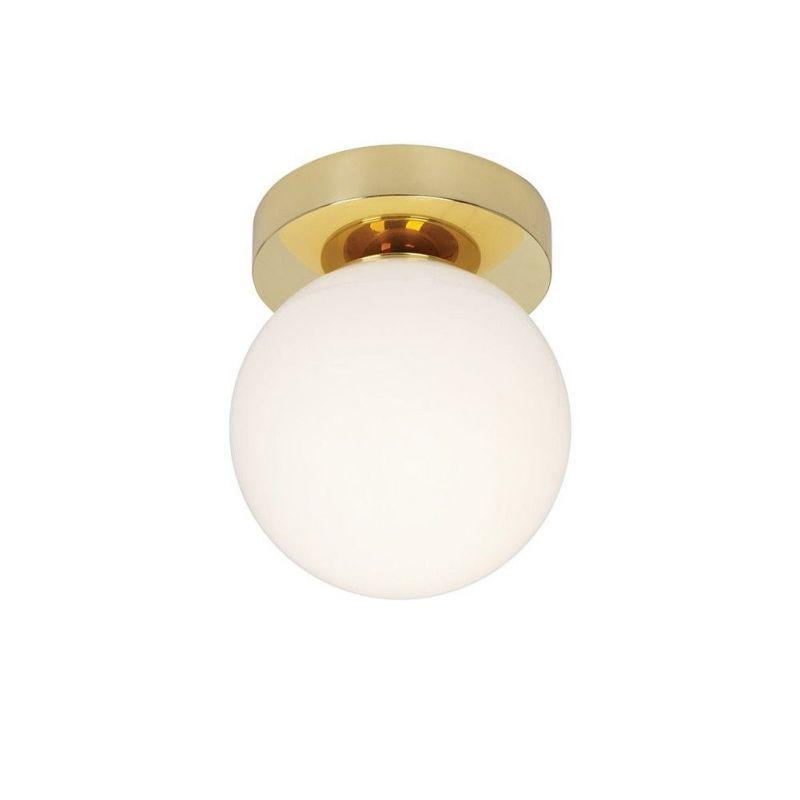 brass ceiling light by Pedret
