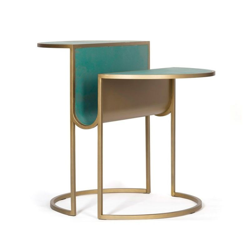 orbit tea table by bohinc studio