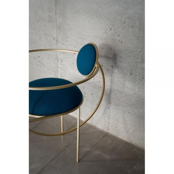 lunar chair seen from a diffrent angle by bohinc studio