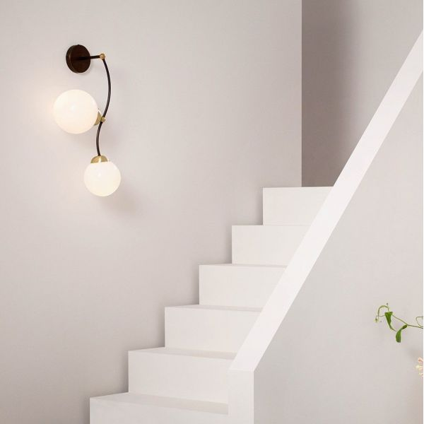 ivy 2 wall light by cto lighting styled