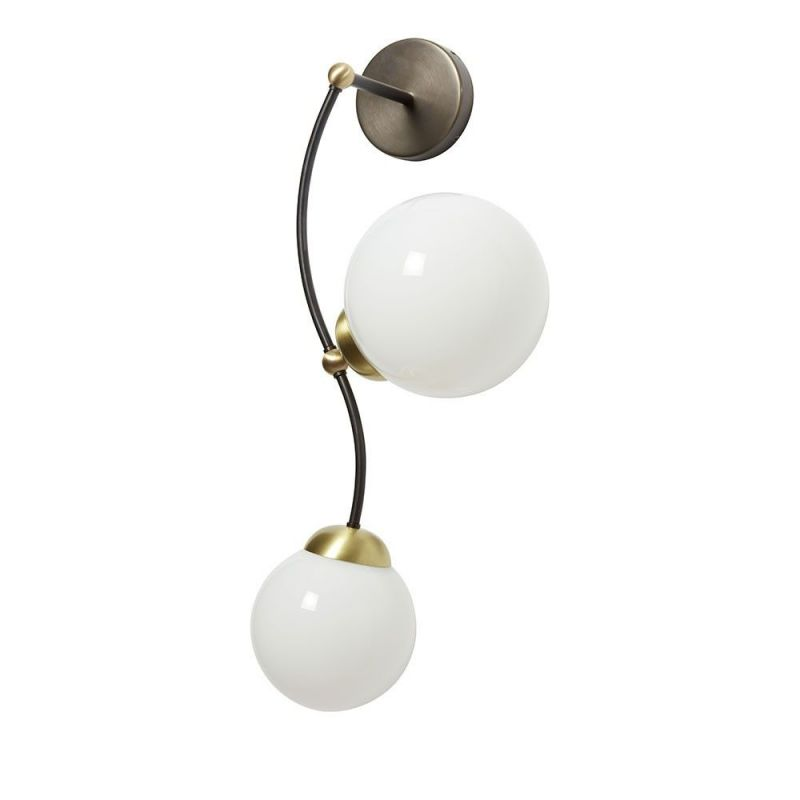 ivy 2 wall light by cto lighting