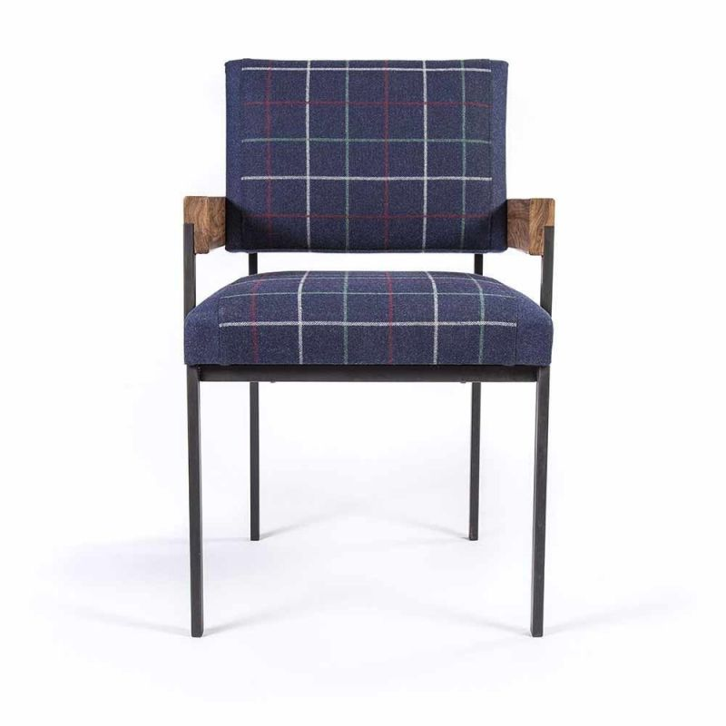 blue arms armchair by charlotte besson oberlin