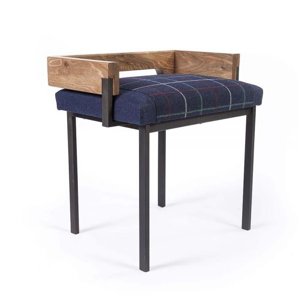 ARMS STOOL by Charlotte Besson Oberlin