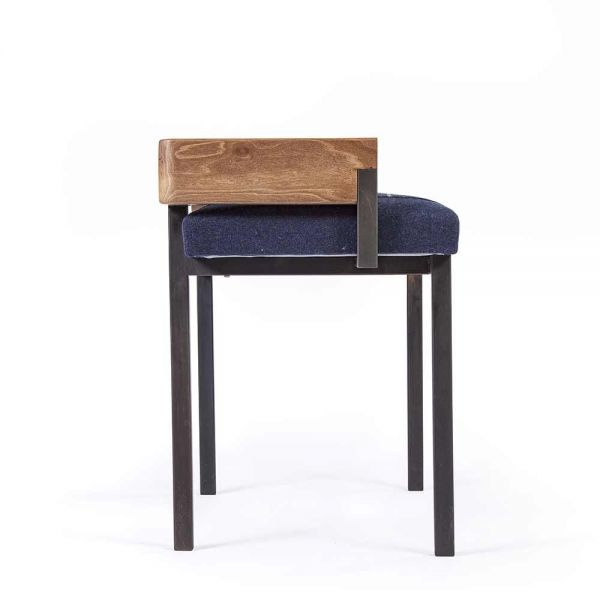 arms stool seen from the side by charlotte besson oberlin
