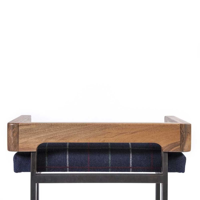arms stool seen from the back by charlotte besson oberlin