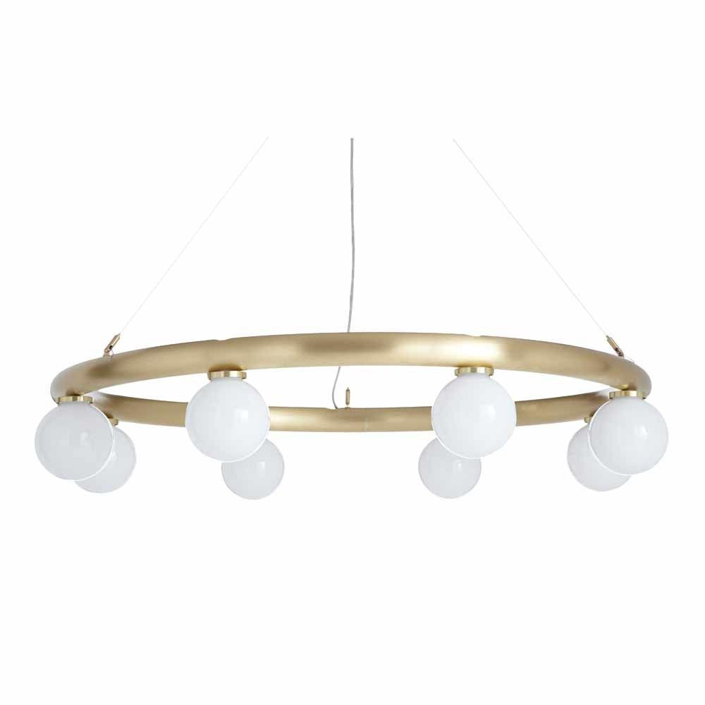 suspension orb fond blanc
