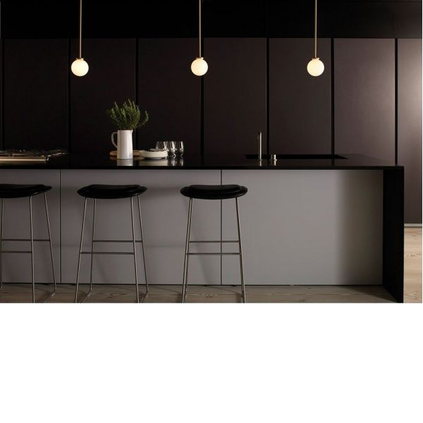 cto lighting mezzo pendants in kitchen