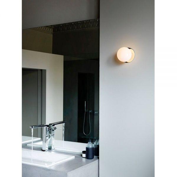 mezzo wall light in a bathroom