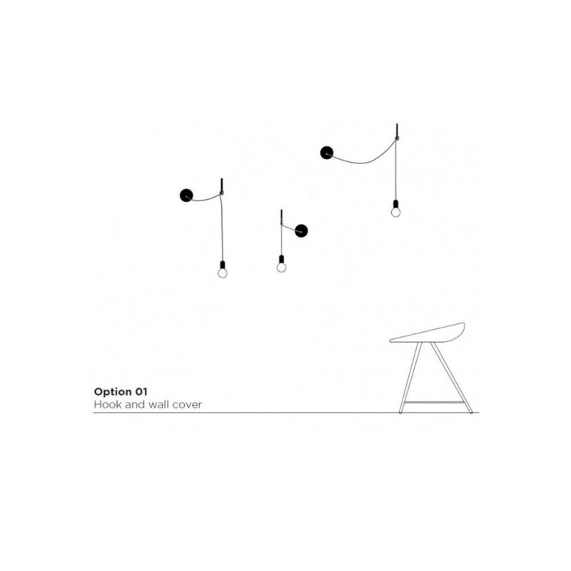 Hook lamp Atelier Areti