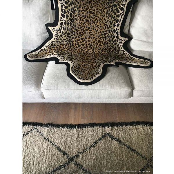 leopard piece seen from high by lindell & co