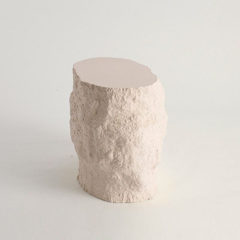 acacia side table by malgorzata  bany