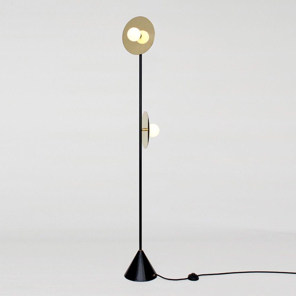 Disc & Sphere floor light, Atelier Areti