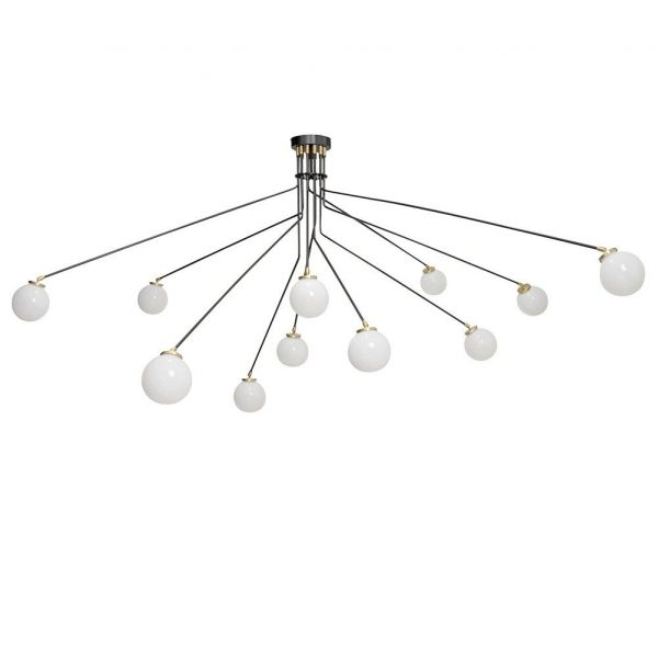 array opal large ceiling light by CTO lightning