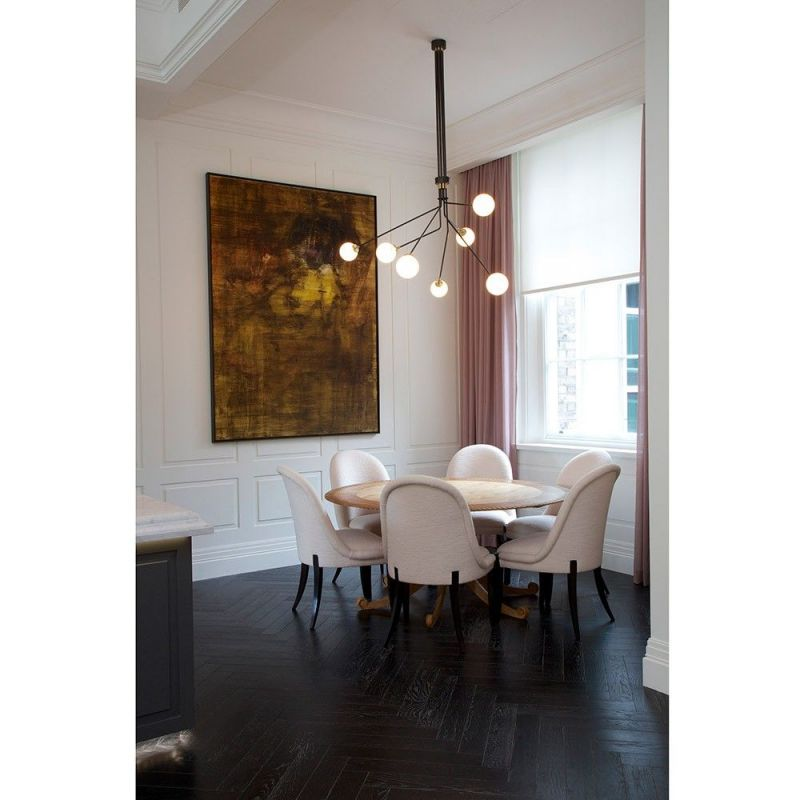 array opal ceiling light styled in an interior by CTO lightning
