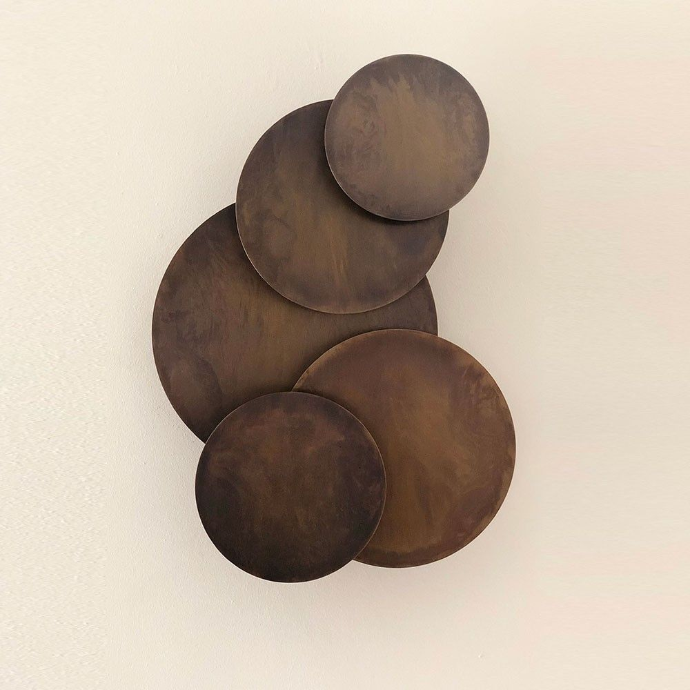 Moonlight bronze wall light by Laloul