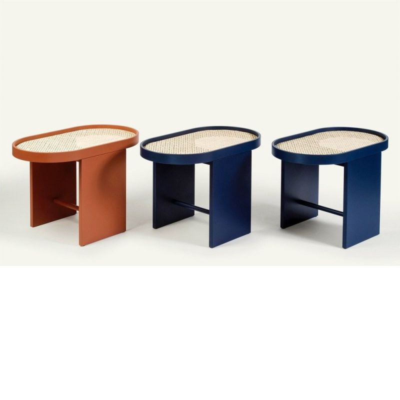 piani side table a few different colors by editions Milano