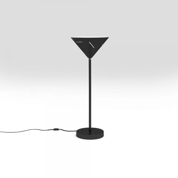 silver desk light by atelier areti