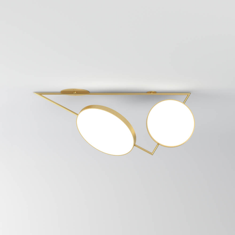 triangle variations ceiling light by atelier areti