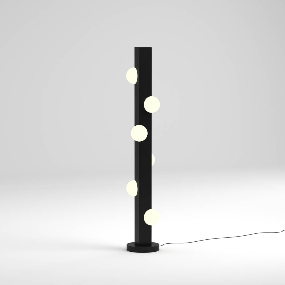 lampadaire oyster by atelier areti
