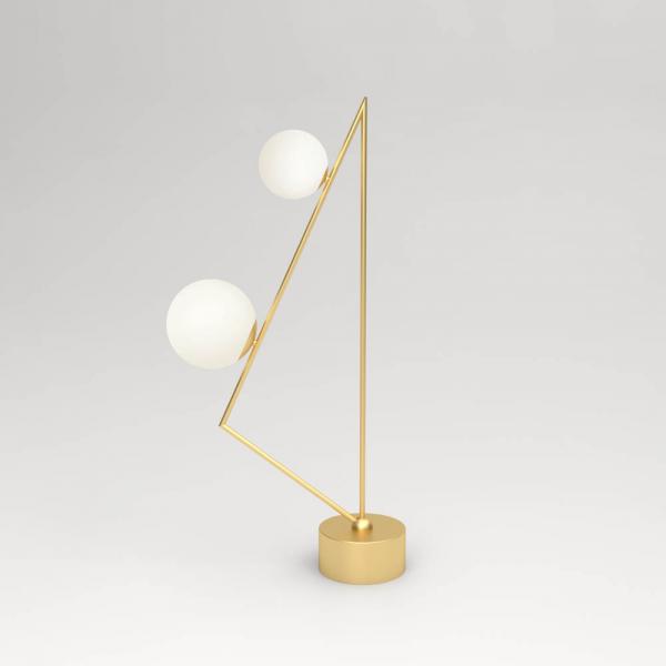 LAMPADAIRE TRIANGLE GIRLANDE by Atelier Areti