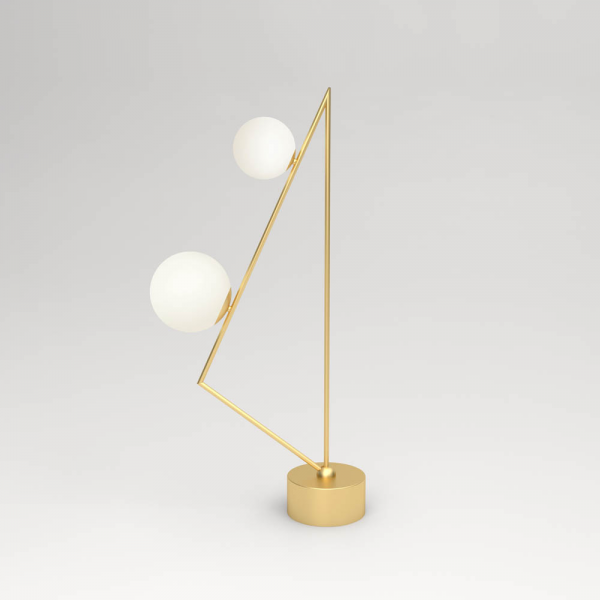 TRIANGLE GIRLANDE FLOOR LIGHT by Atelier Areti