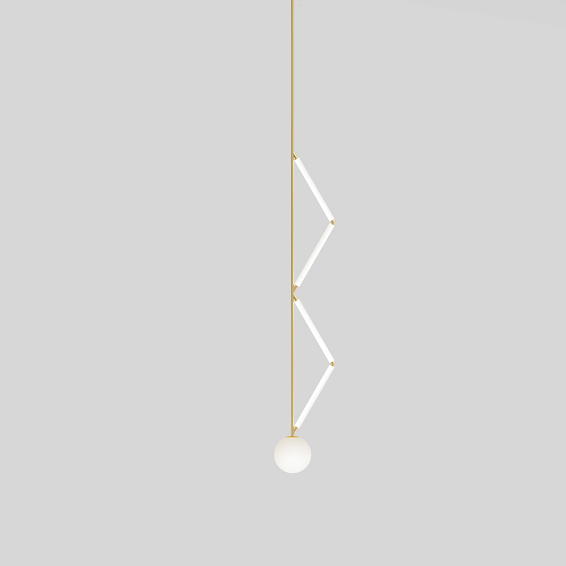 Side Triangle Pendant Atelier Areti