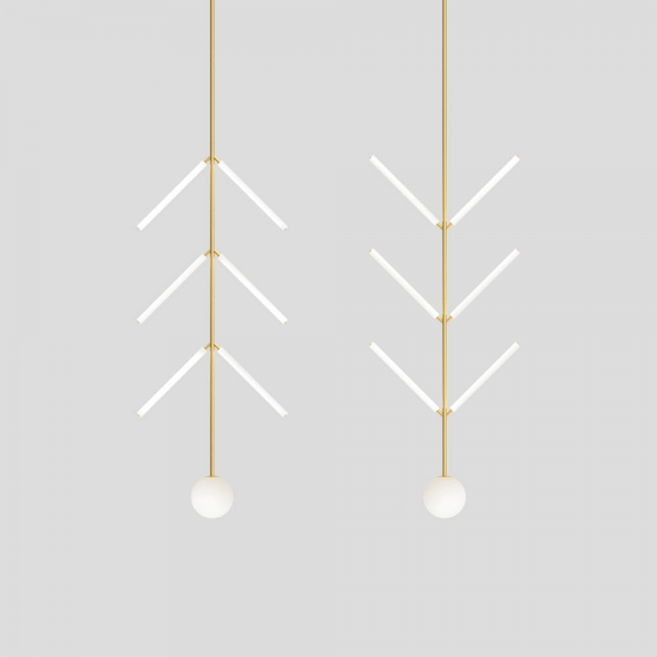 suspension arrow fond blanc
