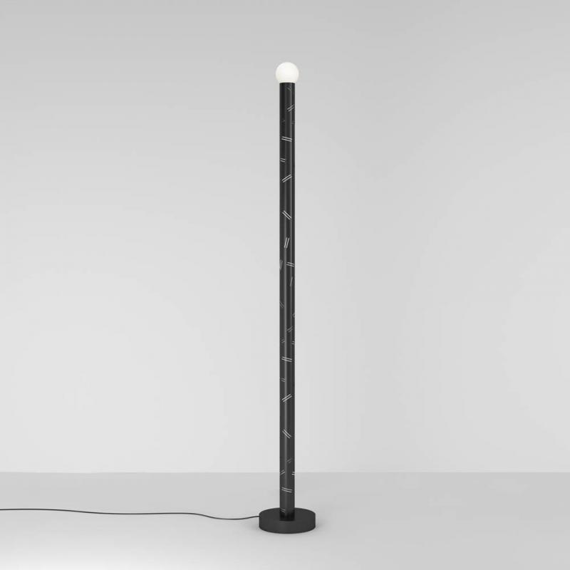 birch floor lamp   by atelier areti
