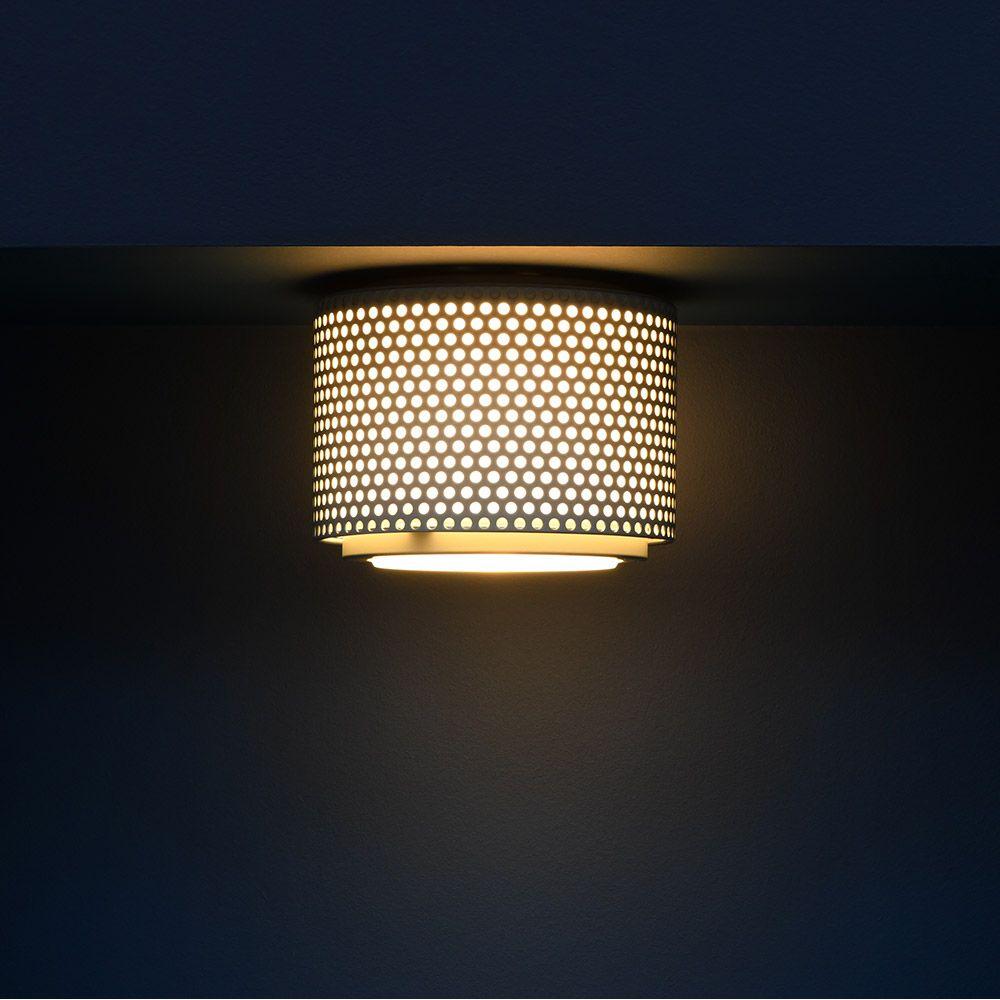 G13 ceiling light, black background  Sammode
