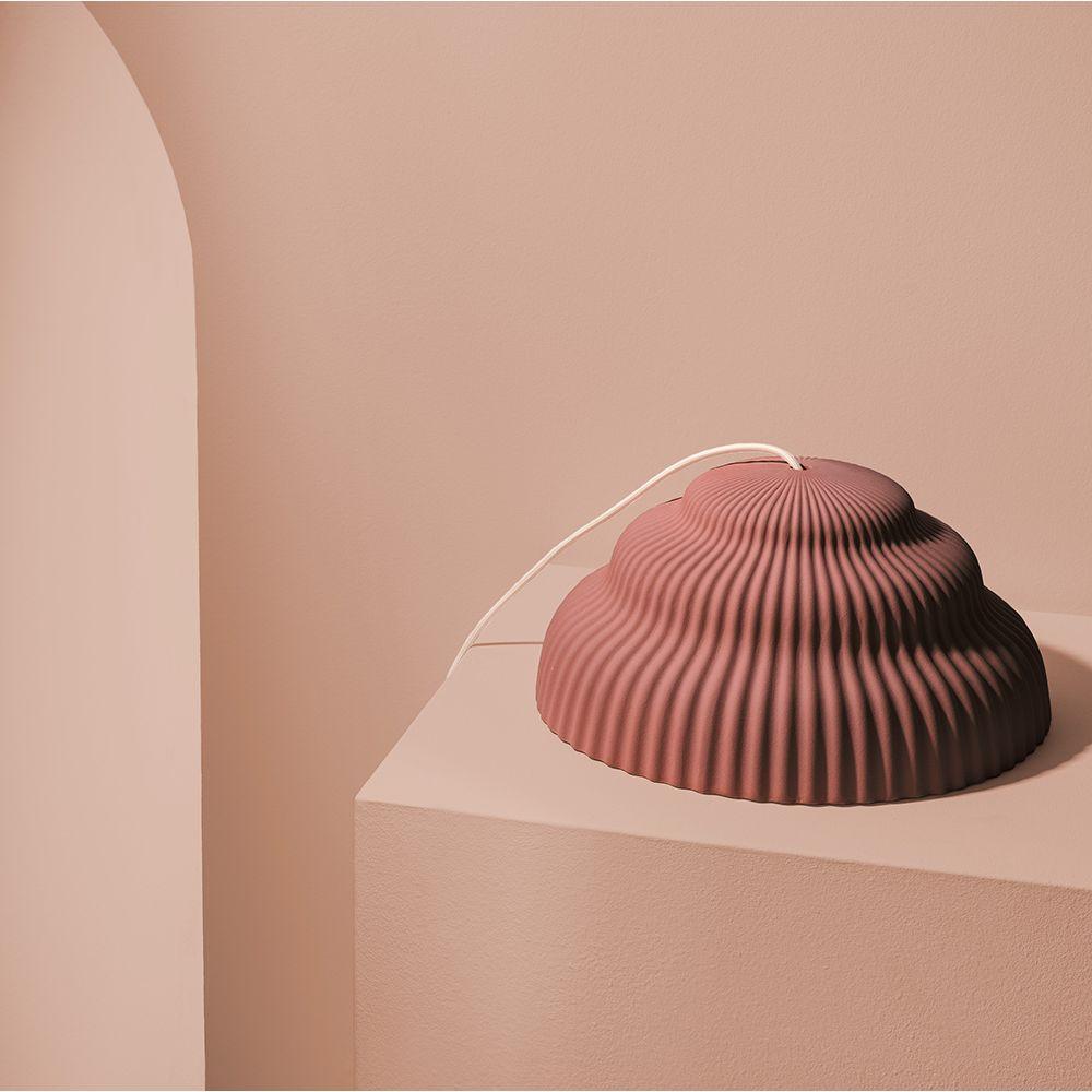 Kaskad pendant Schneid studio terracotta styled