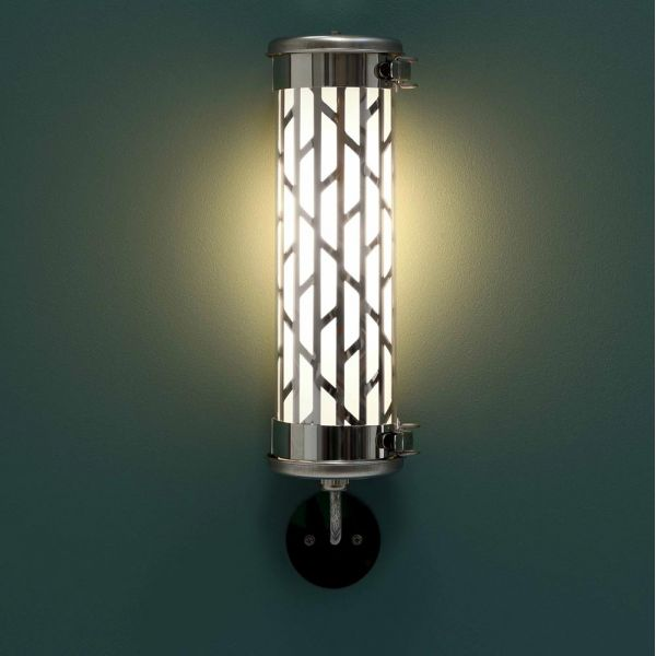 Belleville mini wall light Sammode green background