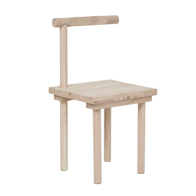 Sculptural chair by Kristina Dam