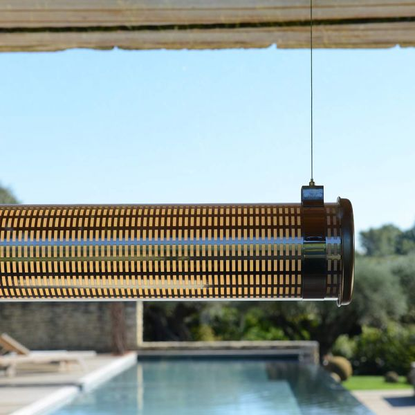 Kyhn pendant by Sammode installed outdoors