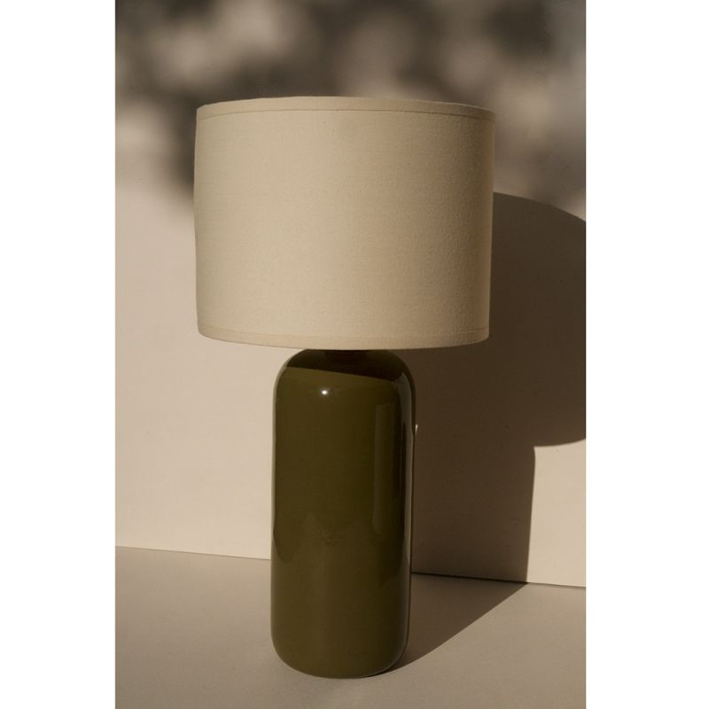 Olea table lamp designed by François Bazin