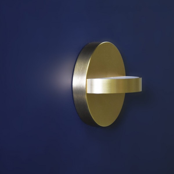 Plus wall light Eno Studio on blue background