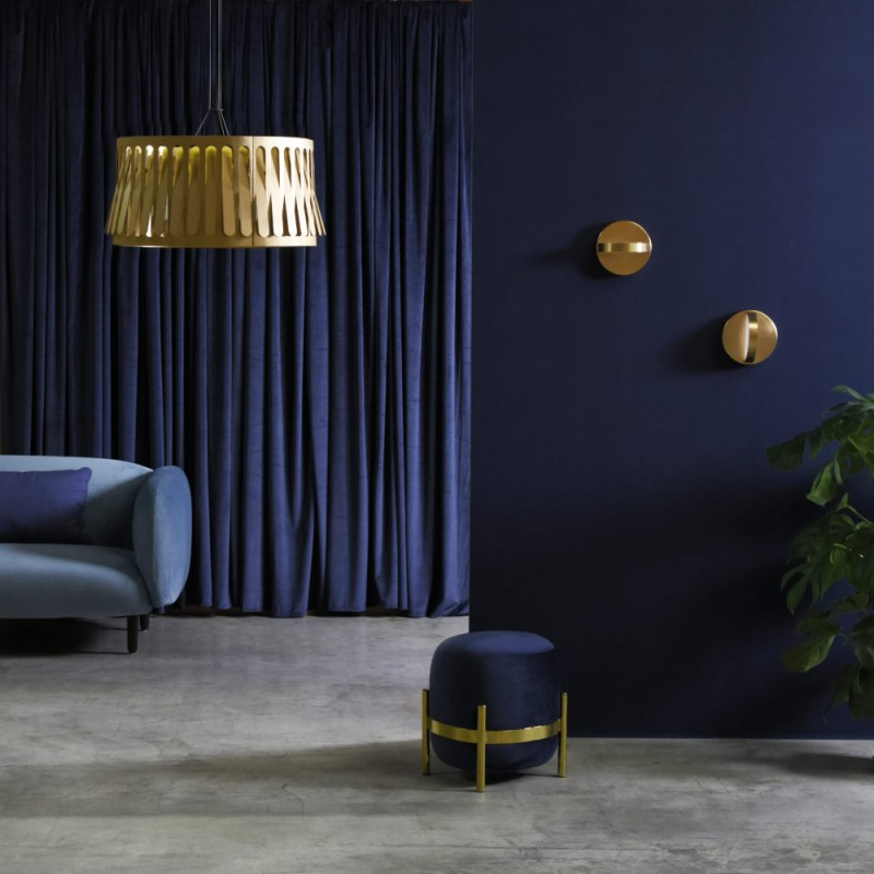 Plus wall light Eno Studio styled in interior setting
