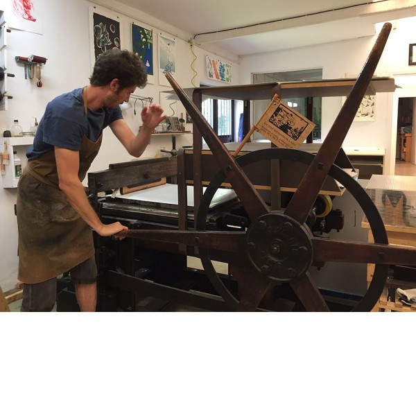petit aphrodite in the workshop by roberto ruspoli