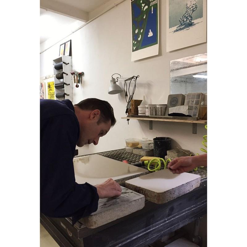 petit aphrodite while making by roberto ruspoli