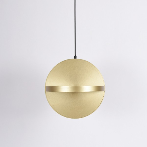 Eno Studio Big Plus pendant in brass
