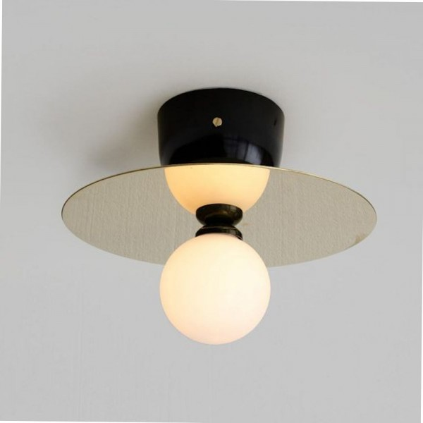 DISC & SPHERE CEILING LAMP by Areti
