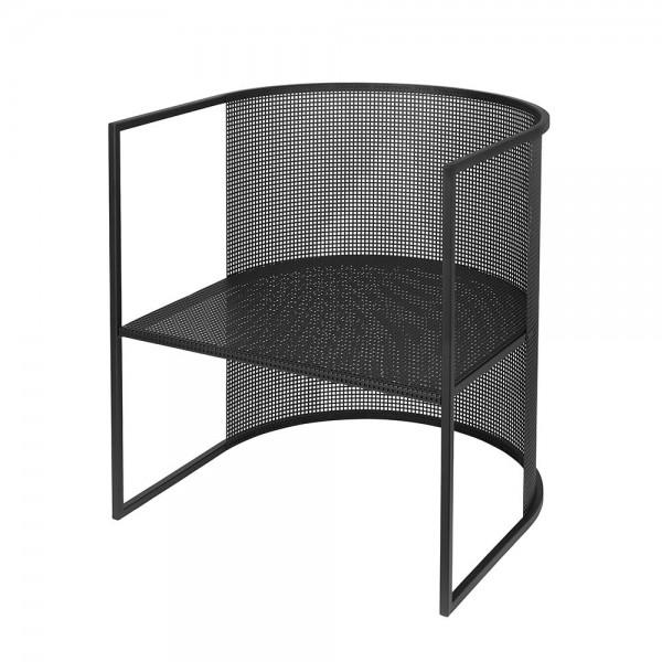 chaise bauhaus noir by kristina dam
