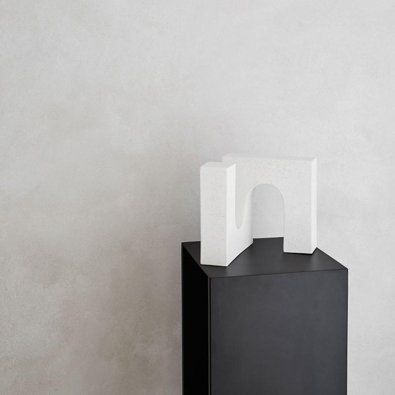 Brick Sculpture on pedestal