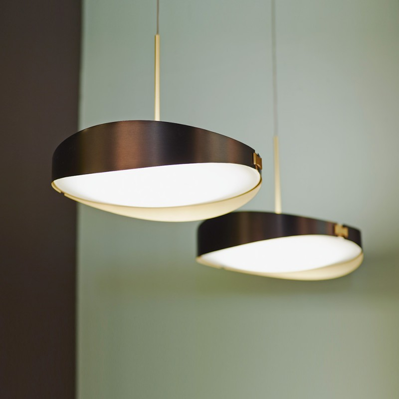 Ring pendant by CVL Luminaires